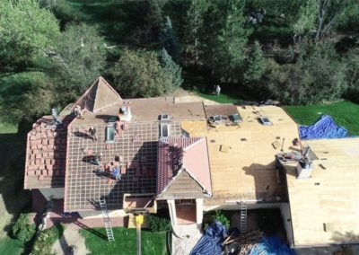 roofing aerial picture 2